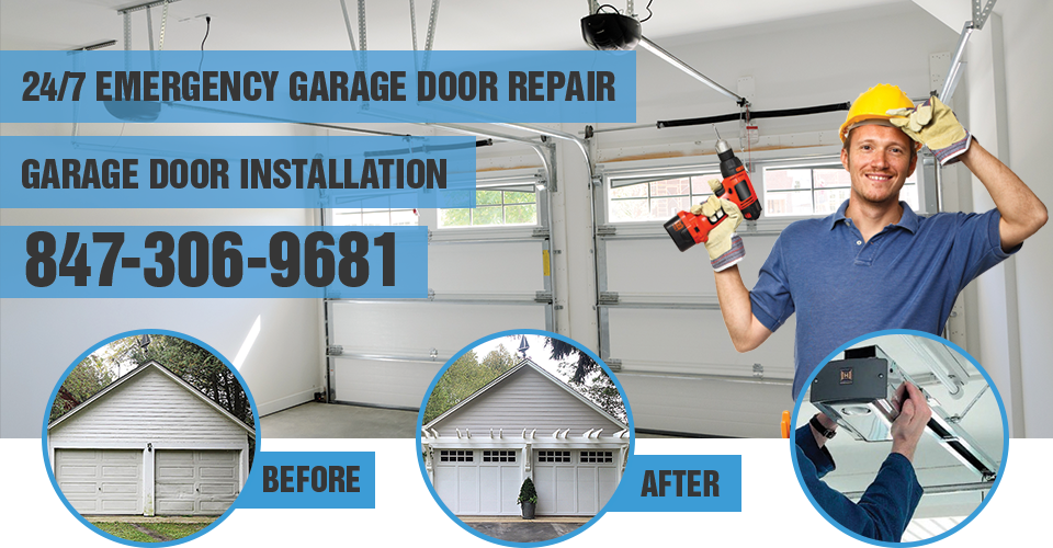 Garage Door Installation Lake Forest IL banner