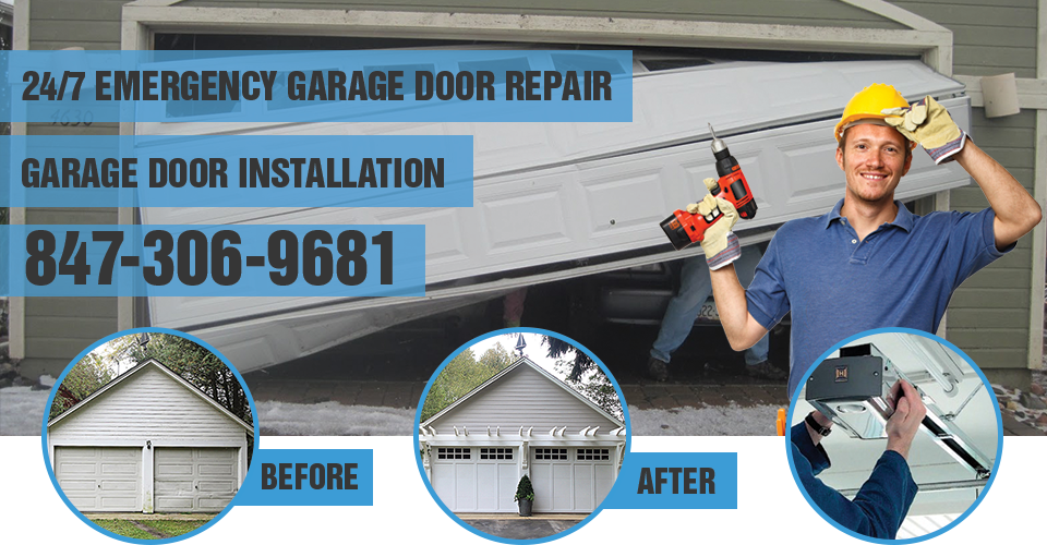emergency garage door service lake forest il