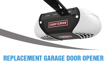 replacement garage door opener lake forest il