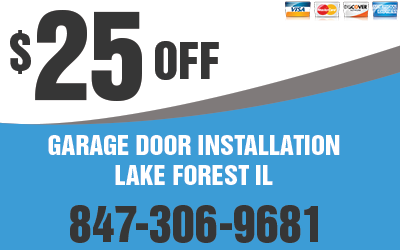 Garage Door Installation Lake Forest IL Coupon